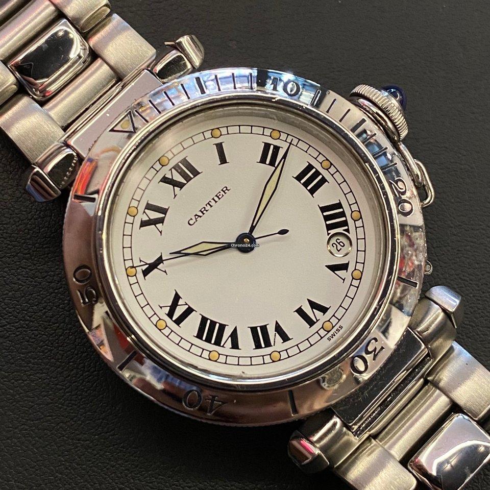 Cartier Pasha 4020 подержанные