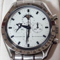 Omega Speedmaster Professional Moonwatch Moonphase Acero Blanco