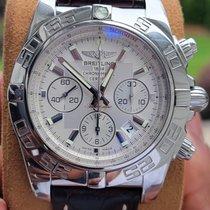 Breitling Acero Automático Plata Sin cifras usados Chronomat 44