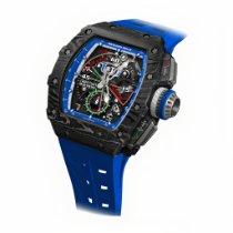 Richard Mille RM 011 Karbon 48mmmm Průhledná