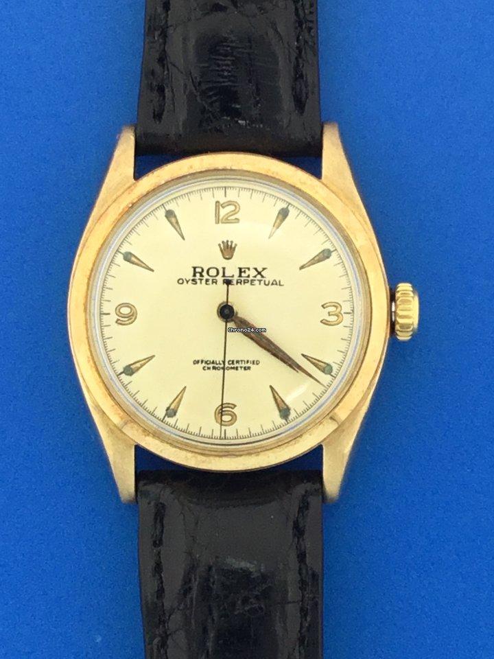 Rolex Bubble Back 6084 pre-owned