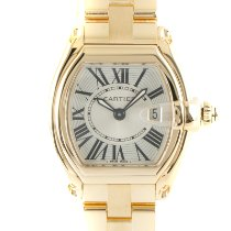 Cartier Roadster Yellow gold 29mm Silver