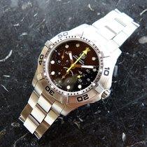 TAG Heuer Aquagraph Steel 42mm Black No numerals
