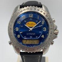 Breitling Pluton Steel 41mm Blue