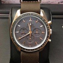 歐米茄 Speedmaster Professional Moonwatch 鈦 42mm 灰色 無數字