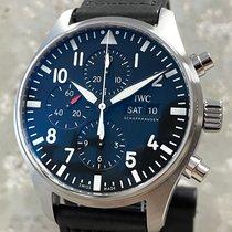 IWC Pilot Chronograph IW377709 Nieuw Staal 43mm Automatisch