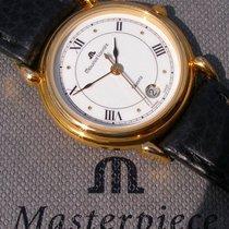 Maurice Lacroix Les Classiques Date gebraucht 26mm Weiß Datum Leder