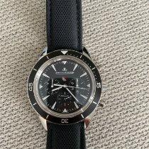 Jaeger-LeCoultre Deep Sea Chronograph Steel 42mm Black No numerals