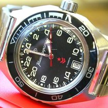 Vostok new Automatic Luminous numerals Luminous hands 41mm Steel Glass