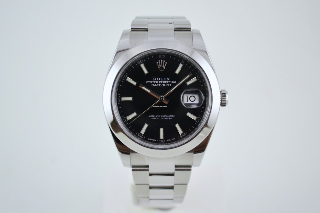 Rolex Datejust 126300 2019 tweedehands