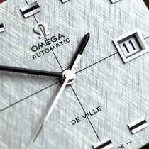 Omega Genève Steel 36.8mm Silver No numerals