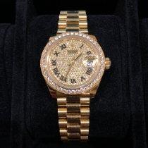 Rolex Lady-Datejust 279138RBR Very good Yellow gold 28mm Automatic United Kingdom