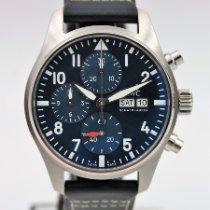 IWC Pilot Chronograph Acciaio 41mm Blu Arabi Italia, Castel Mella , Brescia