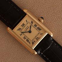 Cartier Tank Vermeil 1613 Very good 20mm Quartz