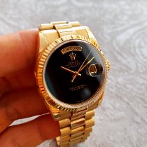 Rolex Day-Date 36 Yellow gold 36mm Black United States of America, New Jersey, Holmdel