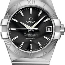 Omega Constellation Men new Automatic Watch with original box 12310382101001
