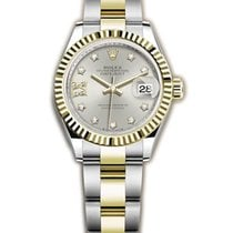 Rolex Lady-Datejust Gold/Steel 28mm Silver United States of America, New York, New York
