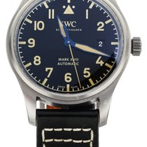 IWC Titanium Automatic Black 40mm pre-owned Pilot Mark