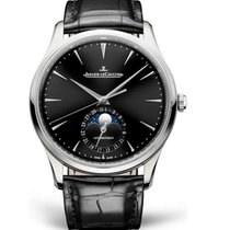 Jaeger-LeCoultre Master Ultra Thin Moon Steel Black United States of America, Iowa, Des Moines