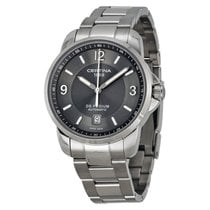 Certina pre-owned 38mm Silver Sapphire crystal