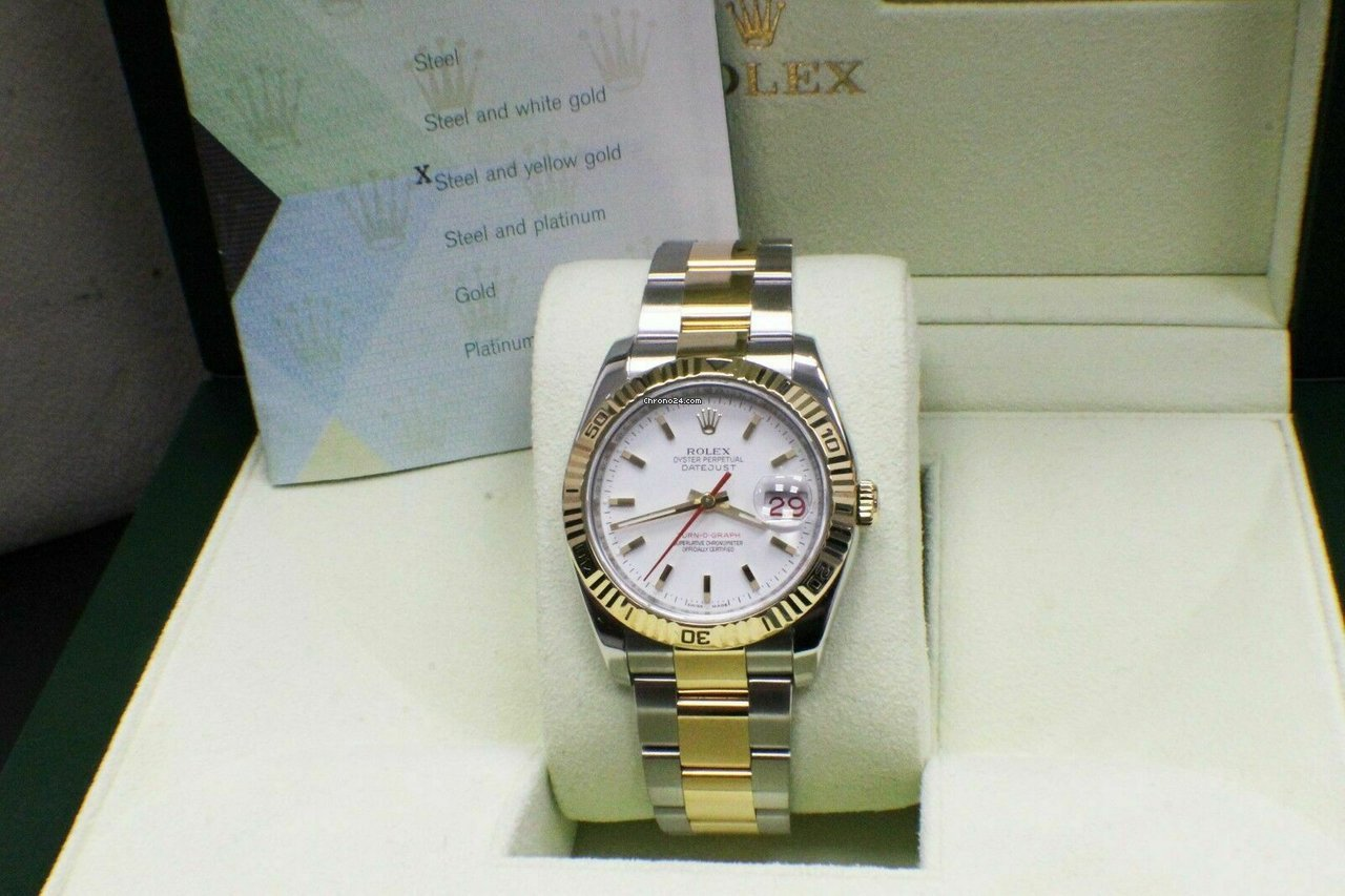 Rolex Datejust Turn-O-Graph 116263 2005 pre-owned
