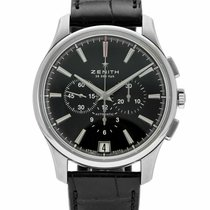 Zenith Captain Chronograph nieuw Automatisch Chronograaf Horloge met originele doos 03.2110.400/22.C493