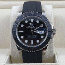 Rolex Yacht-Master 42 White gold 42mm Black No numerals United States of America, Illinois, Chicago