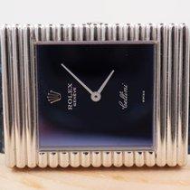 Rolex Cellini White gold 25mm Blue