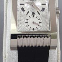Rolex Cellini Prince White gold 27 x 29mm Silver No numerals