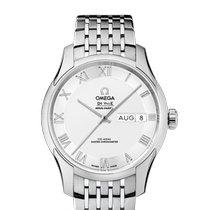 Omega (オメガ) デ・ビル アワービジョン 新品 2019 自動巻き 正規のボックスと正規の書類付属の時計 433.10.41.22.02.001