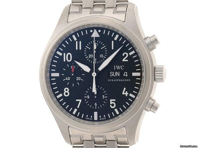 IWC 파일럿 크로노그래프 IW371704 중고시계
