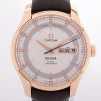 Omega De Ville Hour Vision Yellow gold 40mm Silver
