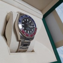 Rolex GMT-Master II 116719BLRO Good White gold 40mm Automatic