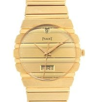 Piaget Polo pre-owned 32mm Champagne Date Yellow gold