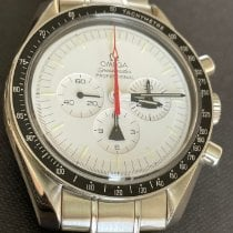 Omega Speedmaster Professional Moonwatch pre-owned 42mm White Chronograph Steel