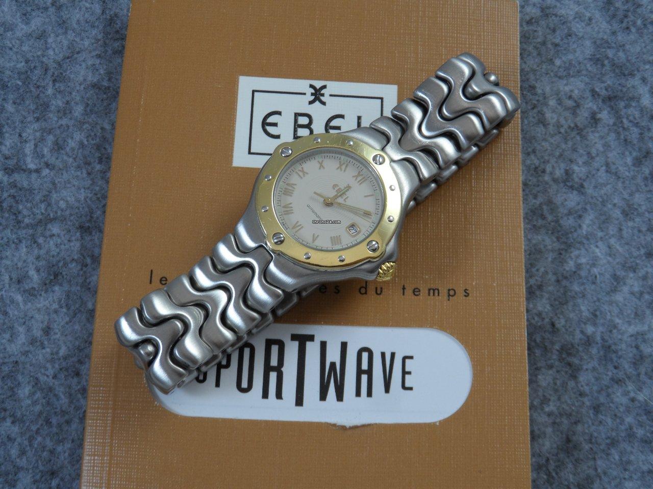 Ebel Sportwave Ebel Sportwave E6172621 1997 подержанные