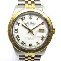 Rolex Datejust Turn-O-Graph Acero y oro 36mm Blanco Sin cifras España, Marbella