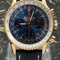 Breitling Navitimer 1 B01 Chronograph 43 Aur rosu 43mm Albastru