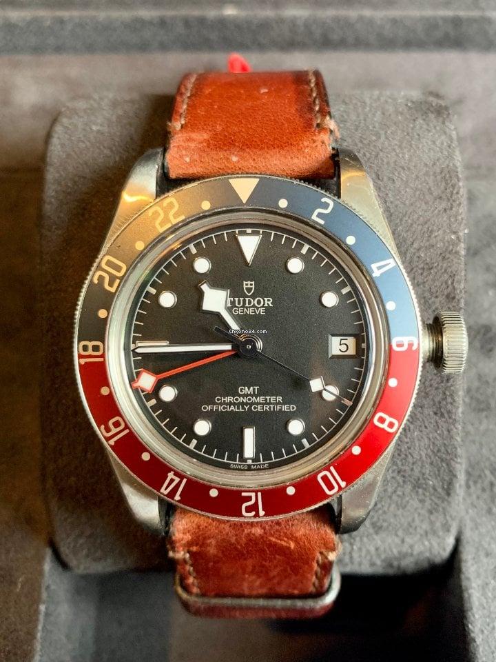 Tudor Black Bay GMT M79830RB 2018 pre-owned