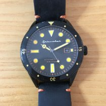 Spinnaker pre-owned Automatic 43mm Black Mineral Glass 20 ATM