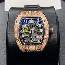 Richard Mille RM 029 Růžové zlato 48mm Průhledná Arabské