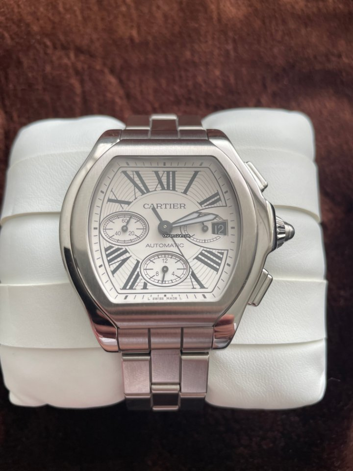 Cartier Roadster W6206019 2011 pre-owned