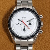 Omega Speedmaster Professional Moonwatch Acier 42mm Blanc Sans chiffres