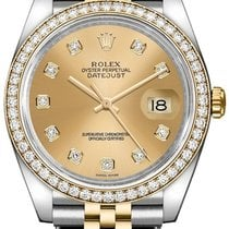 Rolex Gold/Steel 36mm Automatic Datejust pre-owned