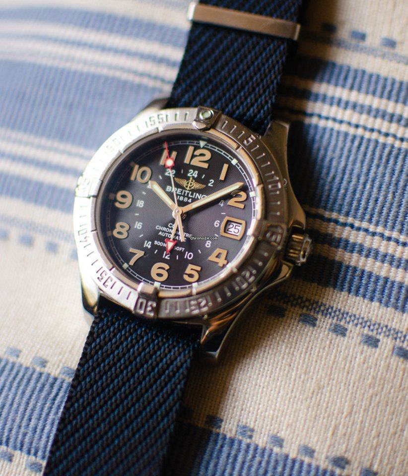 Breitling Colt GMT A32350 2008 pre-owned