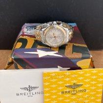 Breitling Chronomat Ouro/Aço 39mm Branco Sem números