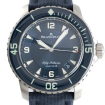 Blancpain Fifty Fathoms Titanium 45mm Blue