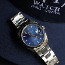 Rolex Oyster Perpetual Date Acier 34mm Bleu France, Paris