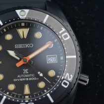 Seiko Prospex Сталь 45mm Черный Без цифр