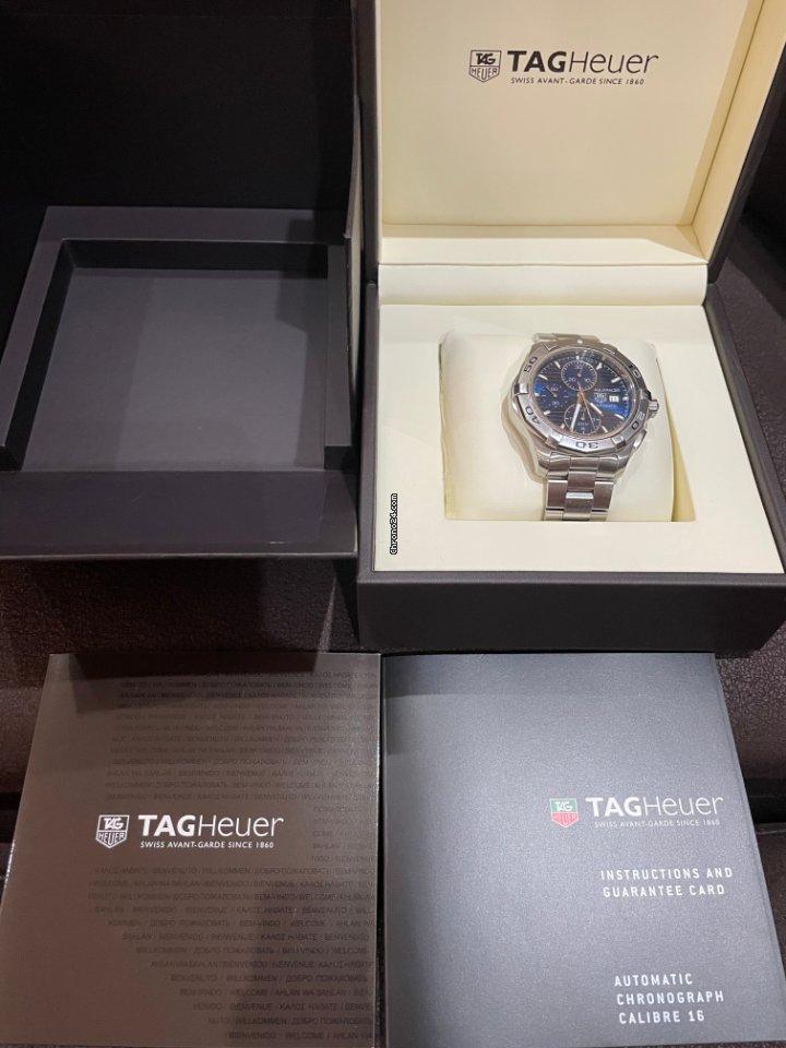 TAG Heuer Aquaracer 300M cap2112.ba0833 2014 подержанные